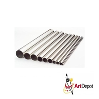 METAL ALUMINUM TUBE 1-8 X 12 INCHES 3CD KS8102