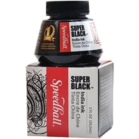 INK INDIA 2OZ SUPER BLACK 3338