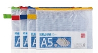 ZIP BAG A5  6.5 x 8.8 inches DELI 5591