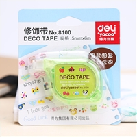 DECO TAPE 5mm x 6 m DELI 8100
