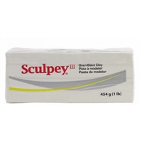SCULPEY III 1lb WHITE SYS31001