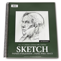 SKETCH PAD SPIRAL 5.5X8.5 INCHES 100SH 100250
