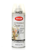 SPRAY UV RESISTENT CLEAR MATTE 11OZ KR1309
