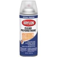 SPRAY CLEAR POLYURETHANE GLOSS 11OZ KR7005-DISC