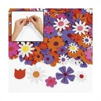 FOAM ADHESIVE FLOWERS 80041