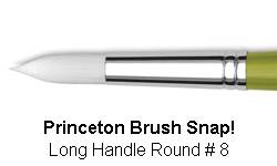 BRUSH 9800R8 8 SNAP PRINCE ROUND 9800R8