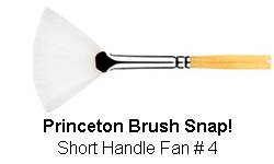 BRUSH 9850FN4 4 SNAP PRINCE FAN 9850FN4