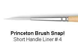 BRUSH 9850L4 4 SNAP PRINCE LINER 9850L4