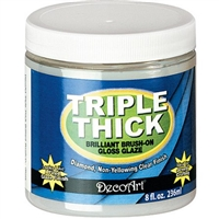 TRIPLE THICK GLOSS GLAZE 8OZ DPTG01-20