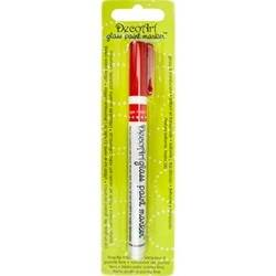 PAINT MARKER GLASS RED DGPM05