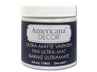 VARNISH DECOR 4OZ ULTRA MATTE DPADM04-96