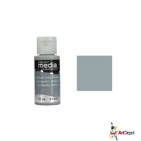 FLUID ACRYLIC DECO 1onz MEDIUM GRAY VL6 -1 DPDMFA17-26