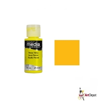FLUID ACRYLIC DECO 1onz PREMARY YELLOW -1 DPDMFA28-26