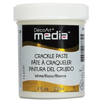 MEDIA CRACKLE PASTE 4OZ WHITE DPDMM17-71