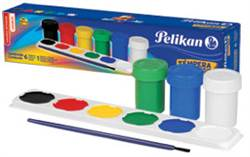 TEMPERA SET PELIKAN 6 COLORES BASICOS 368002
