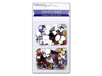 GEMSTONES ASST SHAPES/CLRS/SZS 30G MQSE060