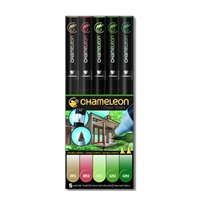 MARKER SET CHAMELEON NATURE TONES SET5 CJCT0514