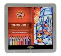 COLOR PENCIL SET POLYCOLOR SET 48 FA3826