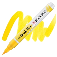 MARKER ECOLINE WC BRUSHPEN LT YELLOW TN11502010