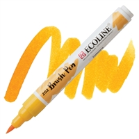 MARKER ECOLINE WC BRUSH PEN DP YELLOW TN11502020