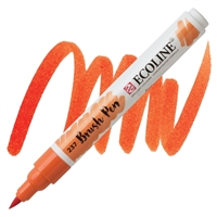 MARKER ECOLINE WC BRUSHPEN DP ORANGE TN11502370