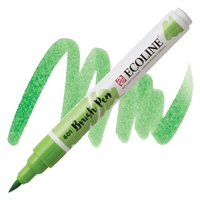 MARKER ECOLINE WC BRUSHPEN LT GREEN TN11506010