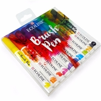 BRUSH TIP MARKER SET 10 ECOLINE TN11509002