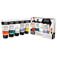 LIQUITEX BASICS MEDIUMS STARTER SET 5 PC LQ3699302