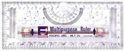 Ruler Multi-Purpose Rolling Ruler 6 MLT-06