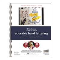 LEARNING SERIES HAND LETTERING PAD 9X12 ADORABLE 12SH SM25-653