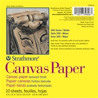 CANVAS PAPER PAD 300 6X6 Inches 10SH 310-6