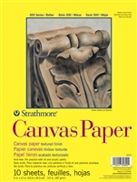 CANVAS PAPER PAD 9X12 310-9
