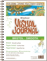 VISUAL JOURNAL - BRISTOL SMOOTH - 9X12 IN 100 LBS 56 PAGES SM460-39