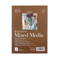 MIXED MEDIA PAD 6X8 15SH 140lb  462-106