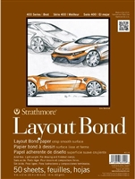 LAY OUT BOND PAD STRATHMORE 400 SERIES - 11X14  50SH SM411-11