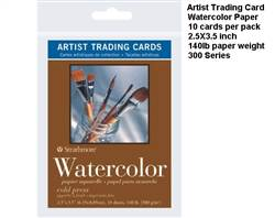 CARD TRADING WATERCOLOR 10 PK 105-904