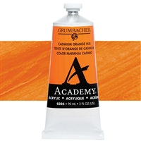 GRUMBACHER ACRYLIC CADMIUM ORANGE HUE 90ML C025