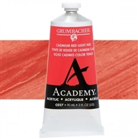GRUMBACHER ACRYLIC CADMIUM RED LIGHT HUE 90ML C027