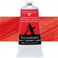 GRUMBACHER ACRYLIC CADMIUM RED MEDIUM HUE 90ML C029
