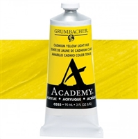 GRUMBACHER ACRYLIC CADMIUM YELLOW LIGHT HUE 90ML C033