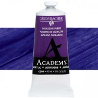 GRUMBACHER ACRYLIC DIOXAZINE PURPLE 90ML C094