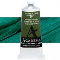 GRUMBACHER ACRYLIC HOOKERS GREEN HUE 90ML C105