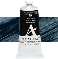 GRUMBACHER ACRYLIC MARS BLACK 90ML C134