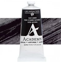 GRUMBACHER ACRYLIC RAW UMBER 90ML C172