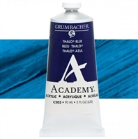 GRUMBACHER ACRYLIC THALO BLUE 90ML C203