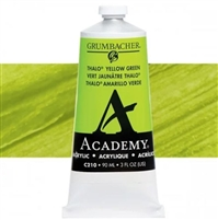 GRUMBACHER ACRYLIC THALO YELLOW GREEN 90ML C210