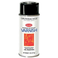 SPRAY RETOUCH  VARNISH 12-3/4 oz.CAN GR544
