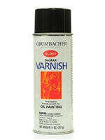 SPRAY DAMAR GLOSS VARNISH 11OZ GRUMBACHER 545
