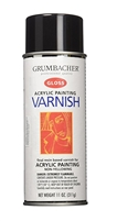 SPRAY ACRYLIC VARNISH GLOSS 11OZ GR 547