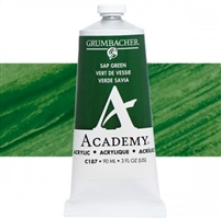 GRUMBACHER ACRYLIC SAP GREEN 90ML C187